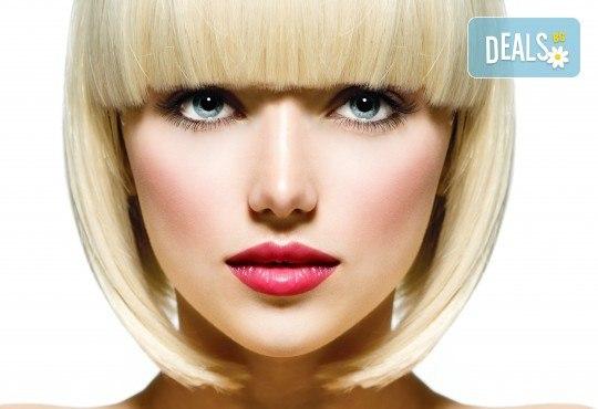 Погрижете се изтощената и безжизнена коса с подстригване, дълбокоподхранваща, хидратираща или арганова терапия и оформяне със сешоар в ADI'S Beauty & SPA! - Снимка 1