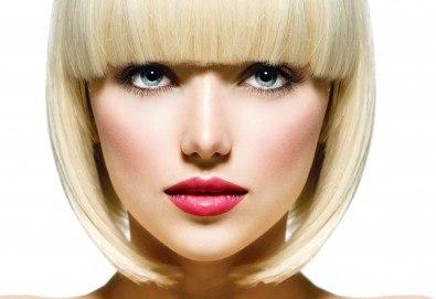 Погрижете се изтощената и безжизнена коса с подстригване, дълбокоподхранваща, хидратираща или арганова терапия и оформяне със сешоар в ADI'S Beauty & SPA! - Снимка