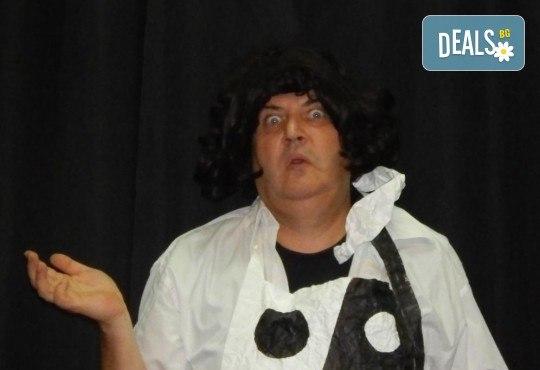 """Елате да се посмеем с моноспектакъла """"Аман от магарета"""" по разкази на Чудомир, на 31.05. от 19ч, в Театър Сълза и Смях, камерна сцена - Снимка 2"""