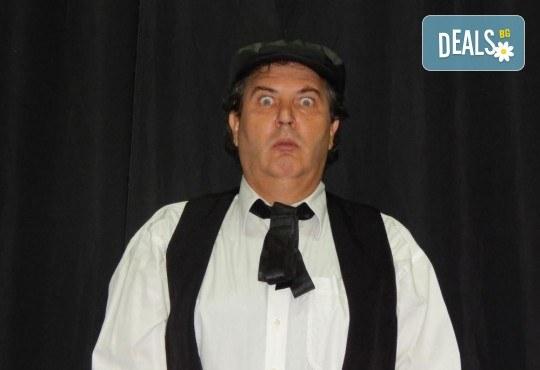 """Елате да се посмеем с моноспектакъла """"Аман от магарета"""" по разкази на Чудомир, на 31.05. от 19ч, в Театър Сълза и Смях, камерна сцена - Снимка 1"""