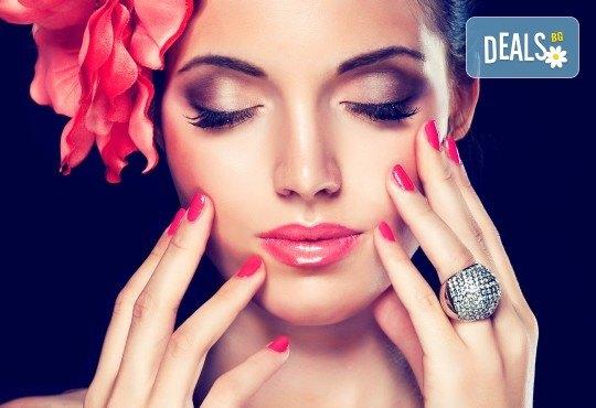 За Вас абитуриенти! Промо пакет официална прическа и маникюр с гел лак, грим и възможност за пробна прическа от Студио BLOOM beauty & spa! - Снимка 2