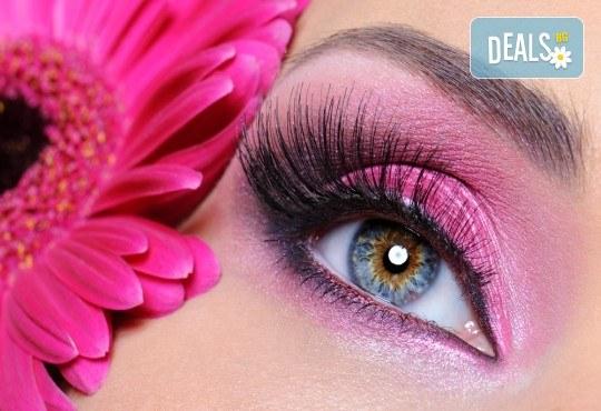 Изящен поглед с копринени мигли косъм по косъм или с 3D ефект в студио за красота Fabio Salsa - Снимка 1