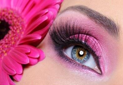 Изящен поглед с копринени мигли косъм по косъм или с 3D ефект в студио за красота Fabio Salsa - Снимка