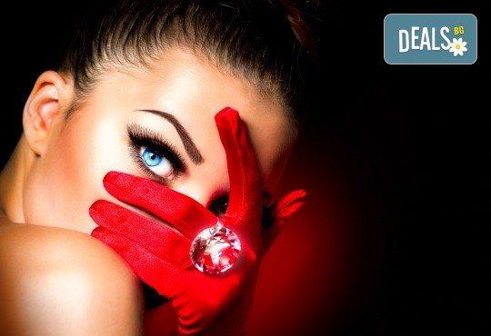 Изваяни вежди с микроблейдинг по метода косъм по косъм / 3D или ретуш в салон Виктория! - Снимка 2