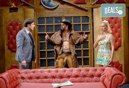 Гледайте Асен Блатечки в спектакъла на Театрална къща Viva Arte - Опасно за живота, на 19.05. от 19ч, Театър Сълза и Смях - Снимка 7