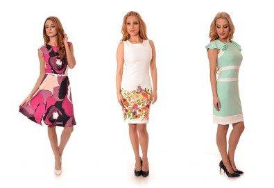 Обновете гардероба си! Вземете стилна рокля за лятото в свежи цветове от Модна къща Ревю! - Снимка
