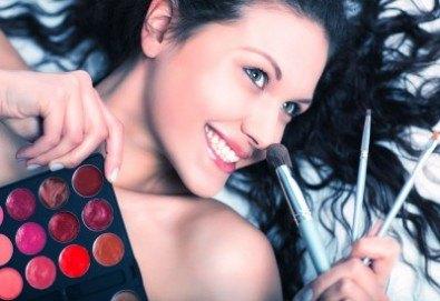 Разберете новите тенденции в гримирането с 2-дневен интензивен курс по професионален грим в NSB Beauty Center! - Снимка