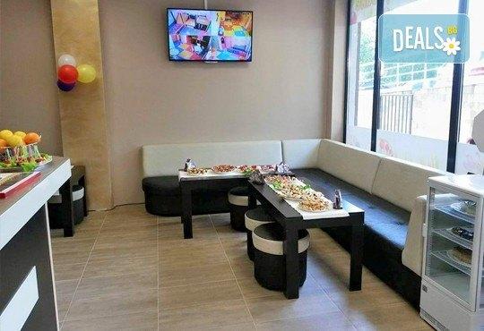 Детски празник за 10 деца! 2 часа парти с украса, аниматор, малка пица Маргарита, сокче, солети и пуканки, торта за децата и кетъринг за възрастните от Fun House! - Снимка 7