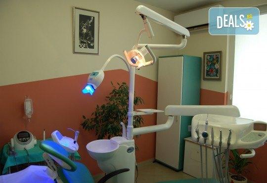 Обстоен преглед, план на лечение, почистване на зъбен камък, полиране с Air Flow и професионално избелване, от МР Дент - Снимка 5