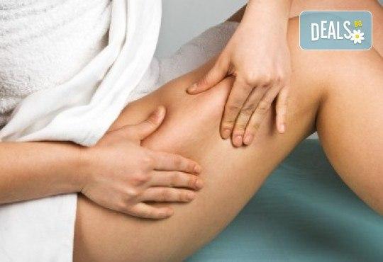 Антицелулитен масаж с детоксикиращи продукти на зона по избор или лимфен дренаж във фризьоро-козметичен салон Вили в кв. Белите брези - Снимка 2
