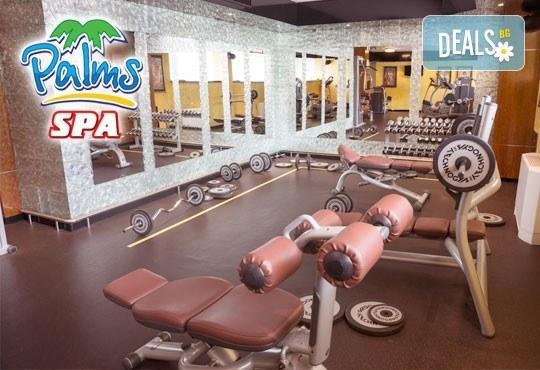 Влезте във форма с Palms Spa към хотел Анел 5*! Басейн + джакузи, фитнес или комбинация със сауна или парна баня само до 15.06! - Снимка 10