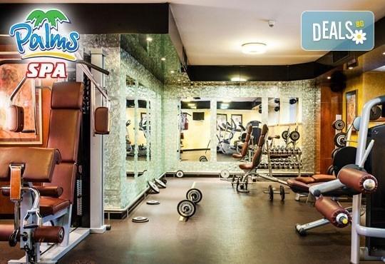 Влезте във форма с Palms Spa към хотел Анел 5*! Басейн + джакузи, фитнес или комбинация със сауна или парна баня само до 15.06! - Снимка 4