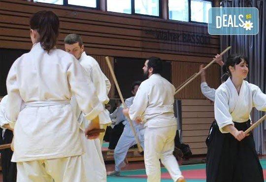 Месечна карта за тренировки по традиционно айкидо за начинаещи и напреднали с индивидуален подход и програма в школа Тайки доджо в Младост! - Снимка 3