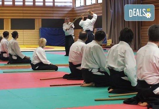 Месечна карта за тренировки по традиционно айкидо за начинаещи и напреднали с индивидуален подход и програма в школа Тайки доджо в Младост! - Снимка 4