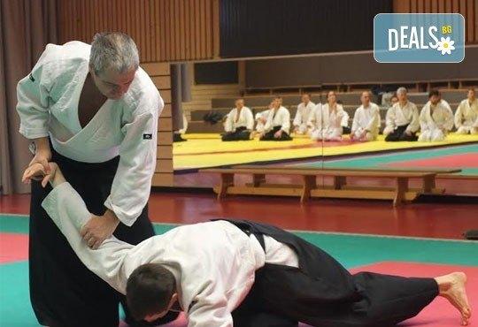 Месечна карта за тренировки по традиционно айкидо за начинаещи и напреднали с индивидуален подход и програма в школа Тайки доджо в Младост! - Снимка 1