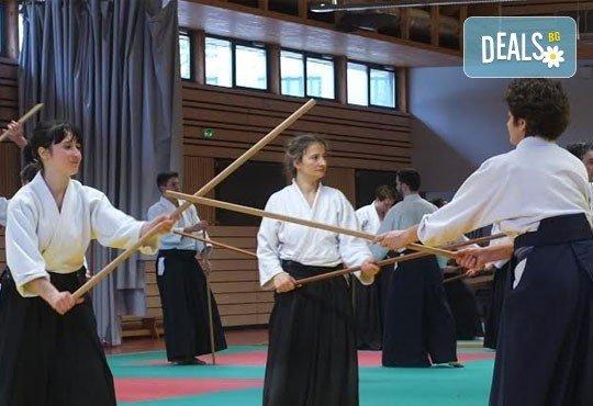 Месечна карта за тренировки по традиционно айкидо за начинаещи и напреднали с индивидуален подход и програма в школа Тайки доджо в Младост! - Снимка 2