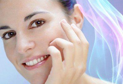 Млада кожа с колагенова терапия с ултразвук и ампула според типа кожа в салон за красота Респект - Снимка
