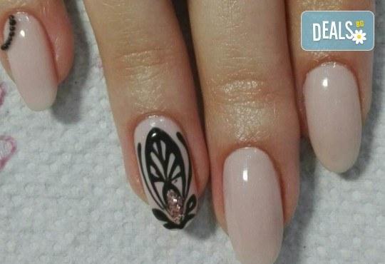 Погрижете се за ръцете си и внесете свежо настроение с маникюр с гел лак и 2 декорации от Beauty Studio Platinum - Снимка 10