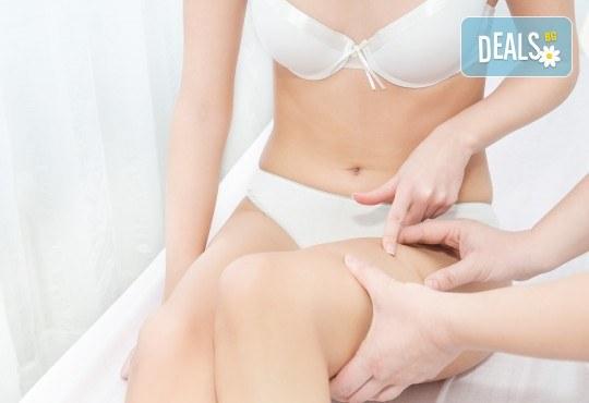 Лукс! Антицелулитен масаж с шоколад или канела в новото студио за масажи Massage and therapy Freerun! - Снимка 1