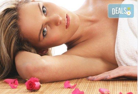 Релаксиращ масаж на цяло тяло с ароматна японска орхидея или масло от роза в Massage and therapy Freerun! - Снимка 1
