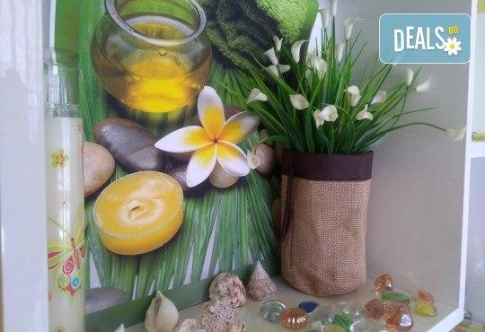 Антицелулитен мануален и апаратен масаж на цели крака и седалище в салон Bellissima Donna - Снимка 8