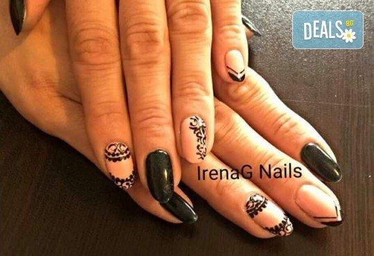 Класически или френски маникюр с гел лак Bluesky в IrenaG Nails! - Снимка 15