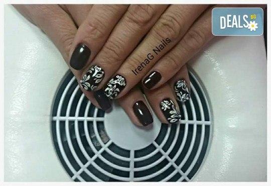 Класически или френски маникюр с гел лак Bluesky в IrenaG Nails! - Снимка 4