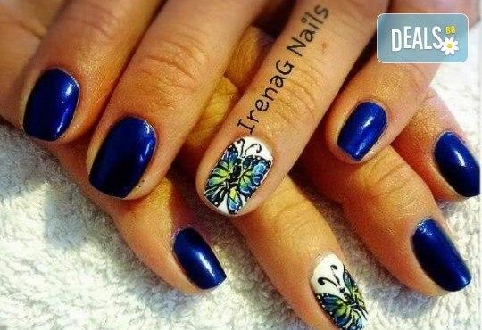 Класически или френски маникюр с гел лак Bluesky в IrenaG Nails! - Снимка 6