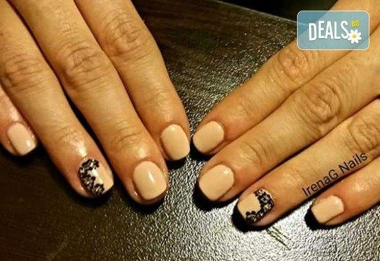 Класически или френски маникюр с гел лак Bluesky в IrenaG Nails! - Снимка 7