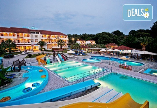 Почивка през юни в Hotel Kanali Beach 3*, Превеза! 5 нощувки със закуски и вечери, транспорт от Пловдив и екскурзовод от Дрийм Тур! - Снимка 1
