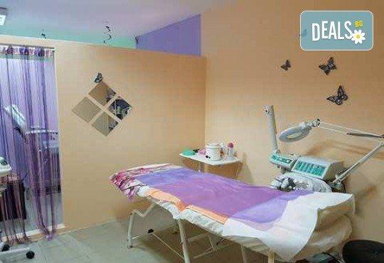 Лечебен масаж с магнезиев гел на гръб, ръце и глава + тракция на главата в студио за красота L Style! - Снимка 9