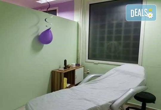 Лечебен масаж с магнезиев гел на гръб, ръце и глава + тракция на главата в студио за красота L Style! - Снимка 4
