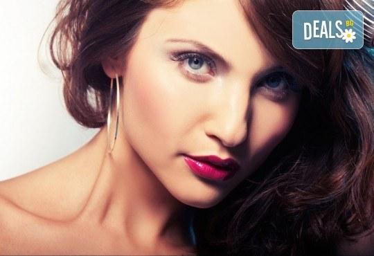 Боядисване с професионална боя BES, подстригване, маска и оформяне на косата със сешоар в студио Ананда! - Снимка 1