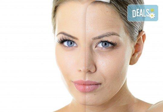 Антистарееща терапия за лице с екстракт от годжи бери за повехнала и изтощена кожа във фризьоро-козметичен салон Вили - Снимка 2