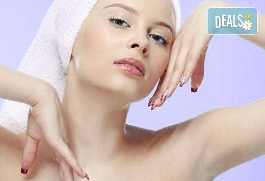 Изчистваща терапия против акне с натурални продукти за проблемна кожа във фризьоро-козметичен салон Вили - Снимка 2