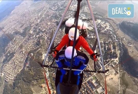 Въздушна разходка! Тандемен полет с моторен делтапланер над Родопите плюс HD заснемане и снимки от Avatar Extreme Sport - Снимка 1
