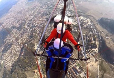 Въздушна разходка! Тандемен полет с моторен делтапланер над Родопите плюс HD заснемане и снимки от Avatar Extreme Sport - Снимка