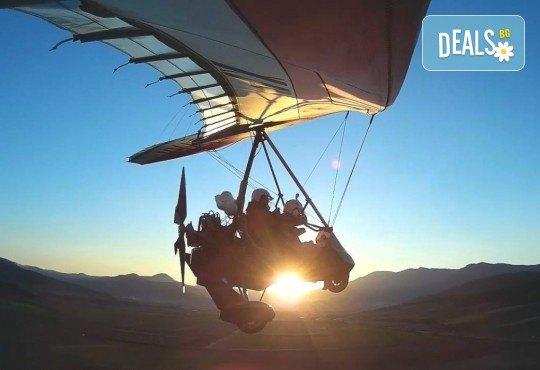 Въздушна разходка! Тандемен полет с моторен делтапланер над Родопите плюс HD заснемане и снимки от Avatar Extreme Sport - Снимка 3