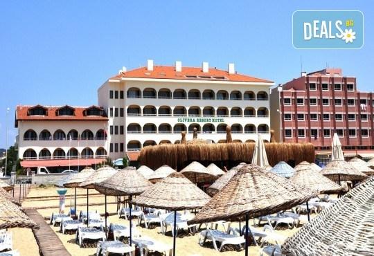 Почивка през юни в Айвалък, Турция с Дениз Травел! 7 нощувки на база All Inclusive в Olivera Resort 3*, възможност за транспорт! - Снимка 1