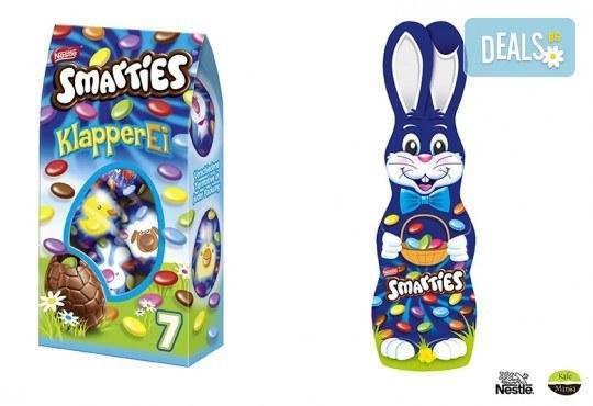 Изненадайте Вашето дете с комплект от Smarties зайче, Smarties Веселата ферма и Smarties мини яйца от Kafemania.bg! Ограничени количества! - Снимка 2