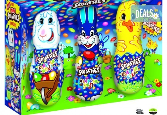 Изненадайте Вашето дете с комплект от Smarties зайче, Smarties Веселата ферма и Smarties мини яйца от Kafemania.bg! Ограничени количества! - Снимка 1