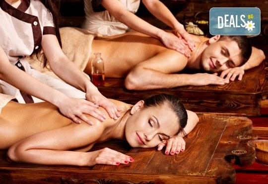 Екзотика за влюбени! Филипинска терапия с миди и раковини с аромат на ванилия и бергамот за двама в Wellness Center Ganesha! - Снимка 1