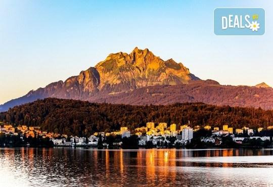 Екскурзия до страната на шоколада - неповторимата Швейцария! 4 нощувки със закуски, транспорт и водач от Данна Холидейз! - Снимка 4