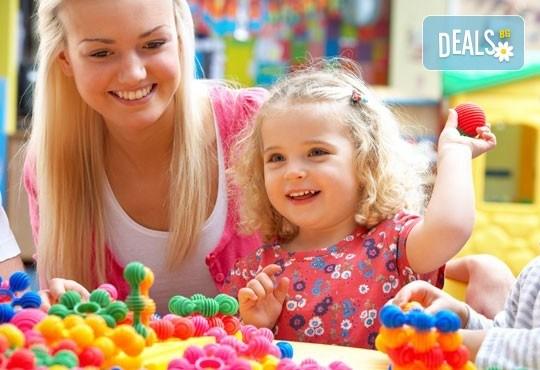 Една седмица полудневна или целодневна лятна Монтесори занималня за деца от 3 г. до 7 г. в новата Цветна градина Монтесори в центъра на София! - Снимка 1