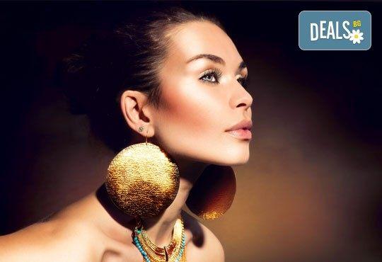 С обич към детайлите! Пробиване на уши от специалист естетик + ПОДАРЪК: поставяне на медицински обици в Miss Beauty - Снимка 2