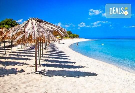 За 1 ден на плаж в Аспровалта, Гърция: транспорт, застраховка, водач
