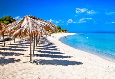 За 1 ден на плаж в слънчева Гърция - Аспровалта! Транспорт, застраховка и водач от Глобус Турс - Снимка