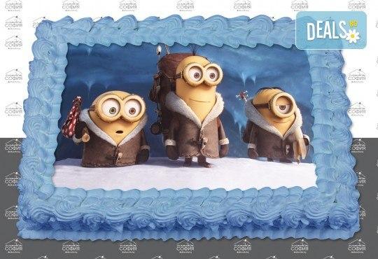 Изненадайте своя малчуган! Детска торта с картинка на любим герой и пълнеж по избор + безплатна доставка от Сладка София! - Снимка 10