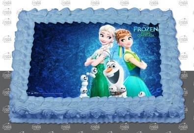 Изненадайте своя малчуган! Детска торта с картинка на любим герой и пълнеж по избор + безплатна доставка от Сладка София!