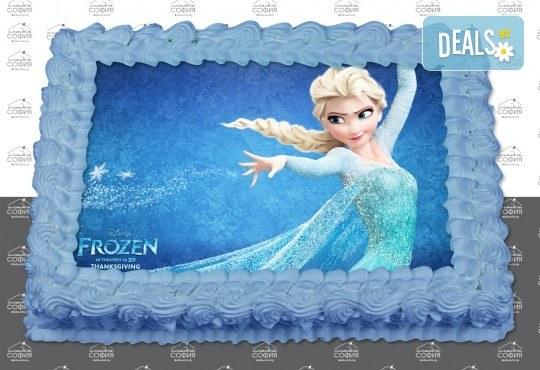 Изненадайте своя малчуган! Детска торта с картинка на любим герой и пълнеж по избор + безплатна доставка от Сладка София! - Снимка 2